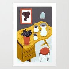 Nakashima Vibes Art Print