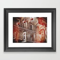 Chinatown, SF Framed Art Print