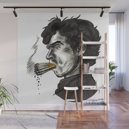 London Smoking Habit Wall Mural