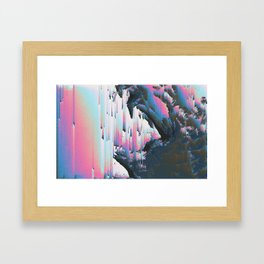 1NCL1N3 Framed Art Print