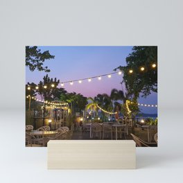 Fairy Lights, Singapore [2019] Mini Art Print