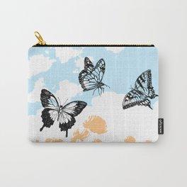 Butterflies print Carry-All Pouch