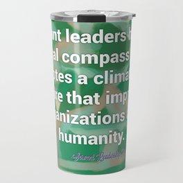 Servant Leadership and a Moral Compass Travel Mug