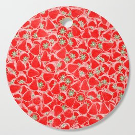 Strawberry Summer Cutting Board