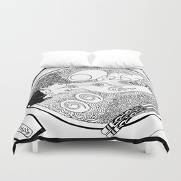 Vancouver Special Duvet Cover