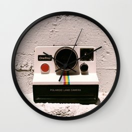 OneStep Land Camera, 1977 Wall Clock