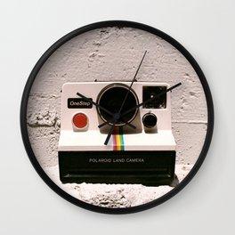 OneStep Land Camera, 1977 Wall Clock