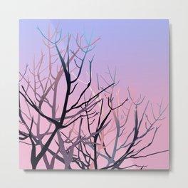 Tree skull Metal Print