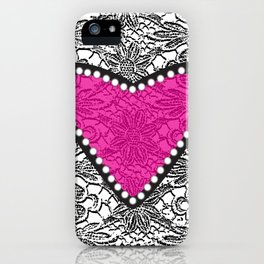 Lacy Love iPhone Case