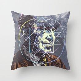 Frederic Bartlett Throw Pillow