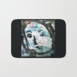 VENUSIAN FACE 4 (PUZZLED DISK VERSION) Bath Mat