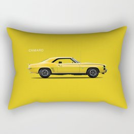 Chevrolet Camaro 69 Rectangular Pillow