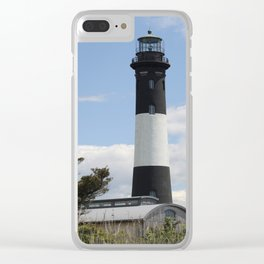 Walkway To Fire Island Lighthouse Clear iPhone Case