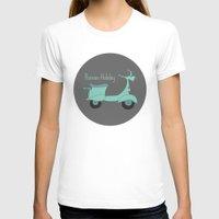 roman T-shirts featuring Roman Holiday by Halamo