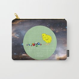 The Chick and the Jewel Carry-All Pouch