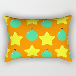 Christmas Ornaments Pattern Rectangular Pillow