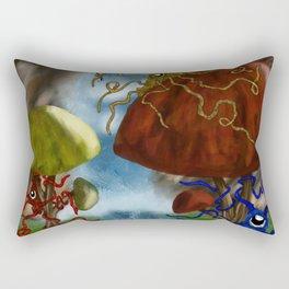 Hidden Waterfall Rectangular Pillow