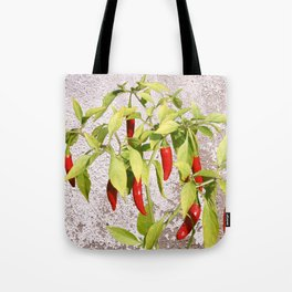 Thai Peppers Tote Bag