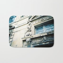 Windows and Faces in Montmarte Bath Mat