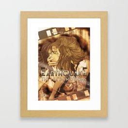 Earthquaque Framed Art Print