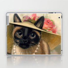 Lady Cat Laptop & iPad Skin