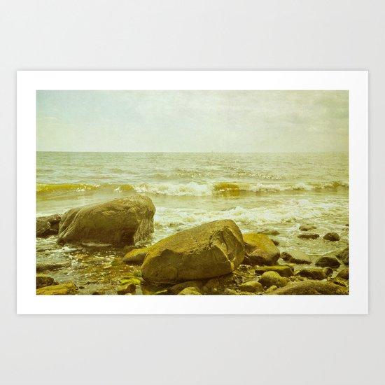 on the island Art Print