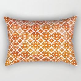 Bohemian Sunny Summer Pattern Rectangular Pillow