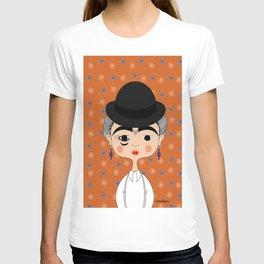 Orange Kahlo T-shirt
