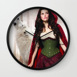 RED RUBY Wall Clock