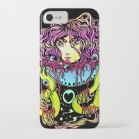 ramen iPhone & iPod Cases featuring Ramen girl by bb0t