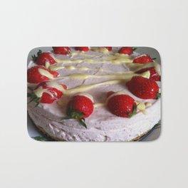 Sumptuous Strawberry Sweet Bath Mat