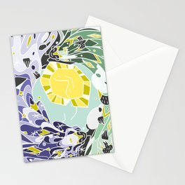 Sun & Moon Child Stationery Cards