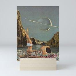 Serenade to Saturn Mini Art Print