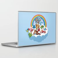 my little pony Laptop & iPad Skins featuring My Little Pony Keg by mike reisel