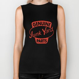 Genuine Junkyard Parts Vintage Decal Hot Rod T-Shirts Biker Tank