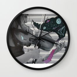 intervention 4 Wall Clock
