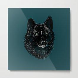 Totem Romeo the wolf Metal Print