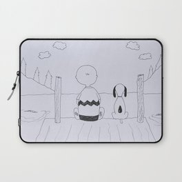 Charlie Brown and Snoopy Laptop Sleeve