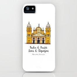 Basilica de Nuestra Senora de Chiquinquira iPhone Case