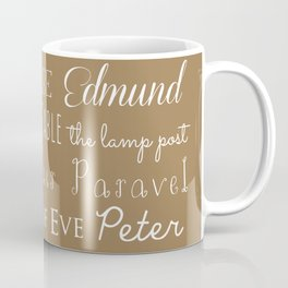 Narnia Celebration - Tortilla Coffee Mug