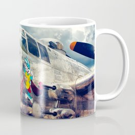 "B-25 Mitchell - The ""Super Rabbit"" - WWII Aircraft Coffee Mug"