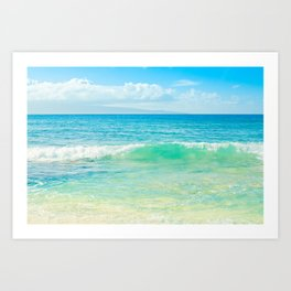 Ocean Blue Beach Dreams Kunstdrucke