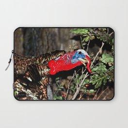 Wild Turkey Close Up Laptop Sleeve