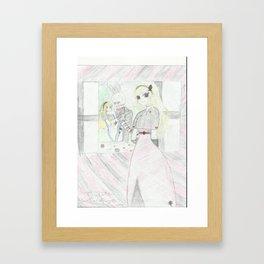 Kidnapped in Wonderland Framed Art Print