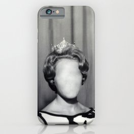 Who is she? iPhone Case