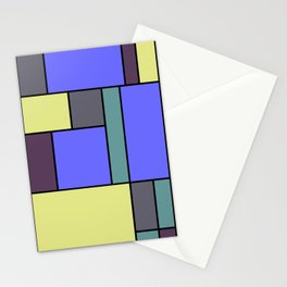 Mondrian #55 Stationery Cards