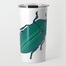 Spotted Jade Beetle Travel Mug