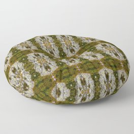GrassyRocks Floor Pillow