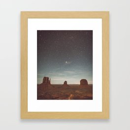 The Monuments Are Calling and I Must Go... Framed Art Print