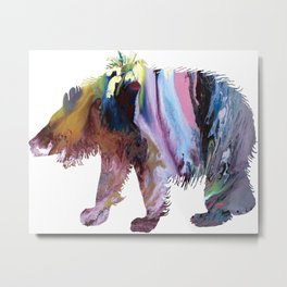sloth bear Metal Print